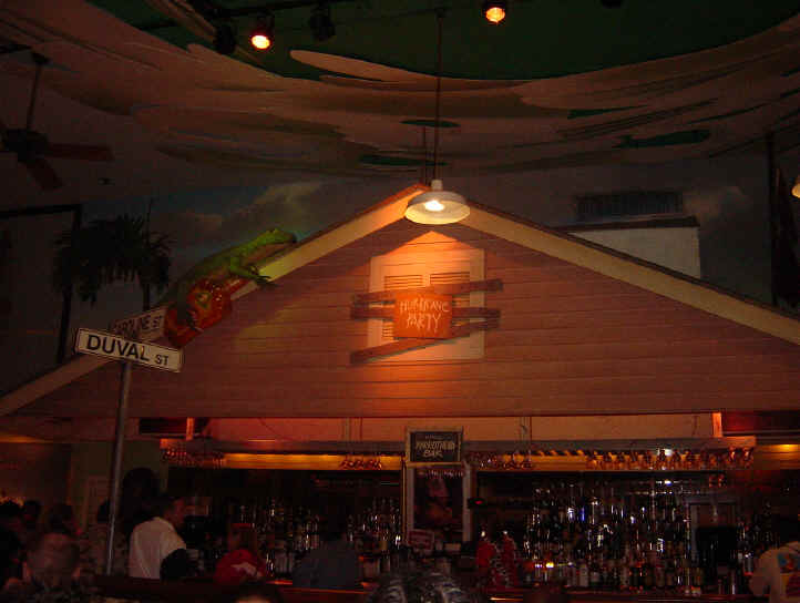 Key West Margaritaville Hurricane Party Bar